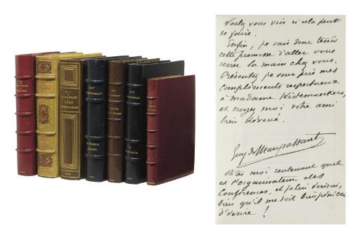 MAUPASSANT, Guy de (1850-1893). Mlle Fifi. Bruxelles: Henry Kistemaeckers, 1882.