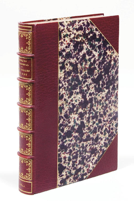 NERVAL, Gérard de (1808-1855). Les Filles du feu. Nouvelles. Paris: Giraud, 1854.