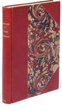 ROSTAND, Edmond (1868-1918). Cyrano de Bergerac. Paris: Charpentier et Fasquelle, 1898.