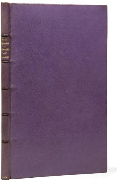 VERLAINE, Paul (1844-1896). Ro
