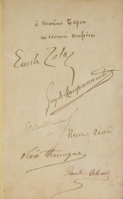 ZOLA, Émile, MAUPASSANT, Guy d