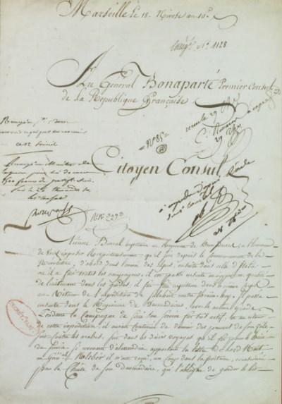 NAPOLÉON Ier (1769-1821). Pièc