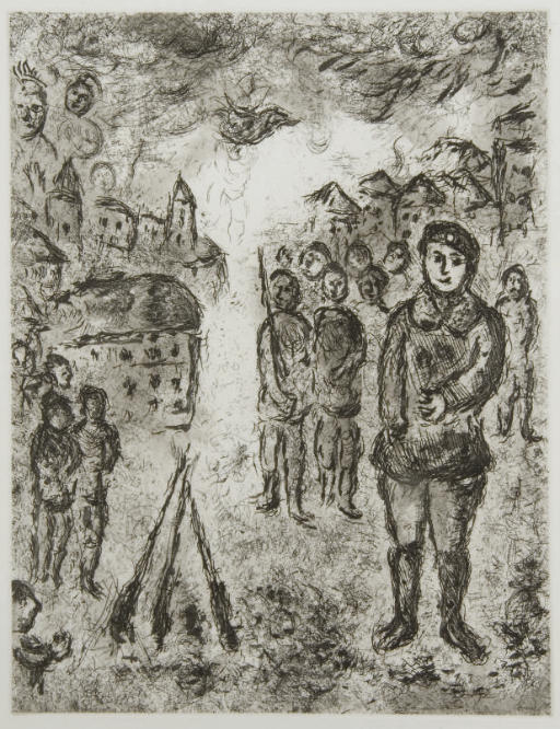 [CHAGALL] -- MALRAUX, André (1