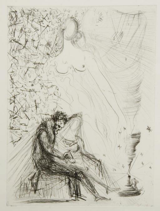 [DALI] -- RONSARD, Pierre de (1525-1585). Les Amours de Cassandre. Paris: Éditions Argillet, 1968.
