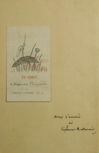 [MANET] -- MALLARMÉ, Stéphane (1842-1898). L'Après-midi d'un faune. Églogue par Stéphane Mallarmé avec frontispice, fleurons & cul-de-lampe. Paris: Alphonse Derenne, 1876.