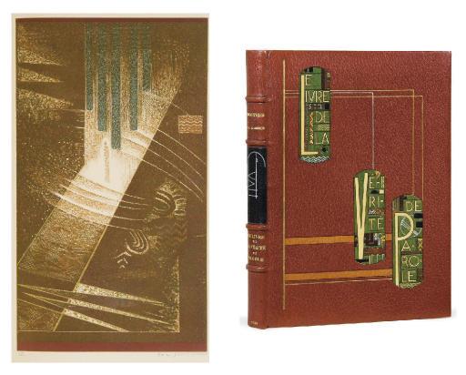 [SCHMIED] -- MARDRUS, Jean-Claude. Le Livre de la Vérité et de la parole. Paris: Schmied, 1929.