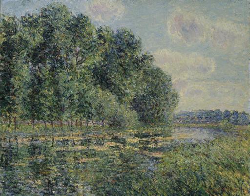 Les bords de l'Eure en été