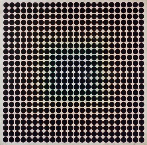 Variation chromatique programmée avec cercles