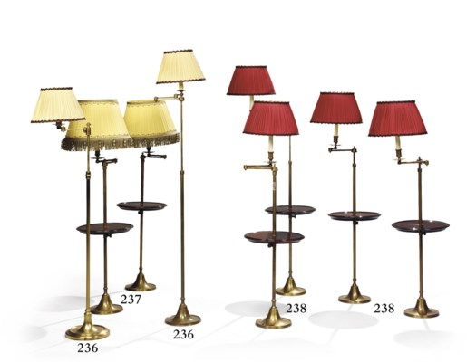 QUATRE LAMPES DE LECTURE