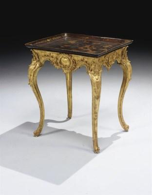 TABLE D'EPOQUE BAROQUE