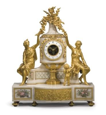 PENDULE D'EPOQUE LOUIS XVI