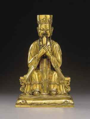 SCULPTURE D'UN IMMORTEL TAOIST