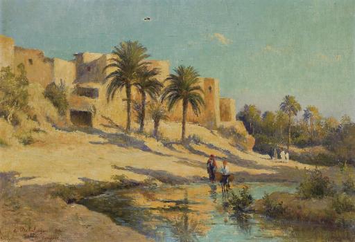 Oasis à Gabès, Tunisie