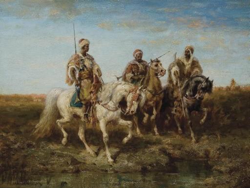ADOLF SCHREYER (FRANCFORT 1828