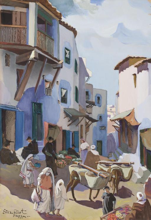 ELISABETH DANDELOT (ERMONT 1898 - 1995 CASABLANCA)