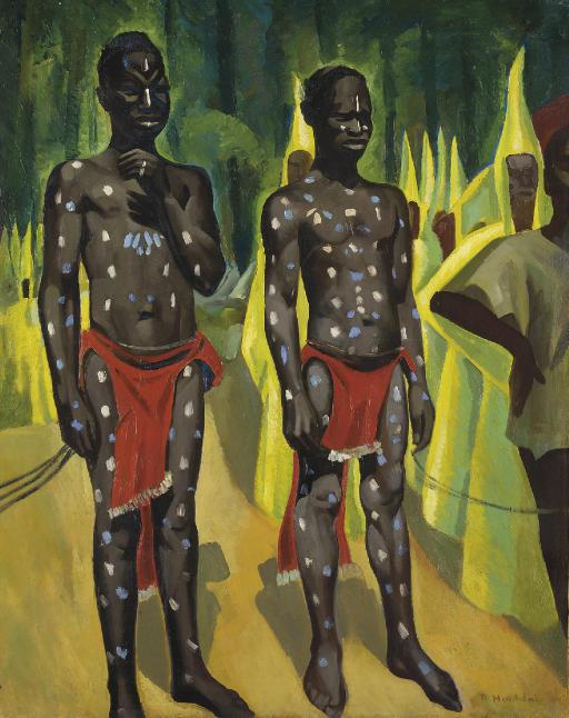 Cérémonie de circoncision bambara (Soudan)