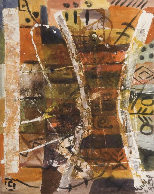 Composition aux motifs africains