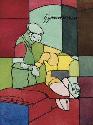 Valerio Adami (N. 1935)