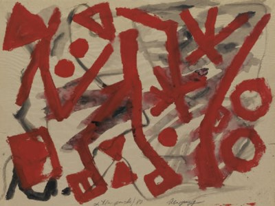 A.R. Penck (N. 1939)