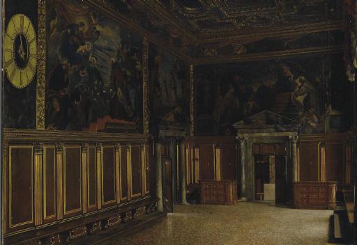 La Sala del Collegio in Palazzo Ducale a Venezia