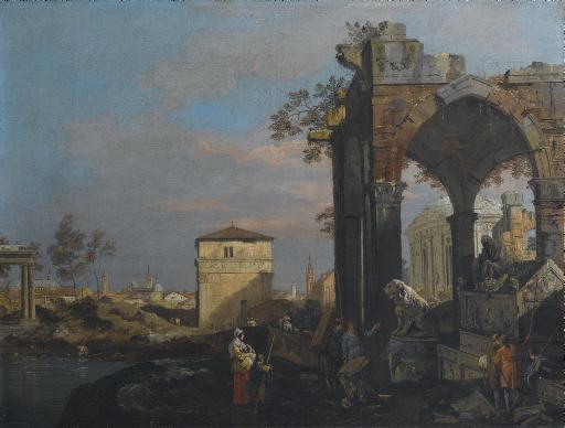 Giovanni Antonio Canal, il Canaletto (Venezia 1697-1768) e aiuti