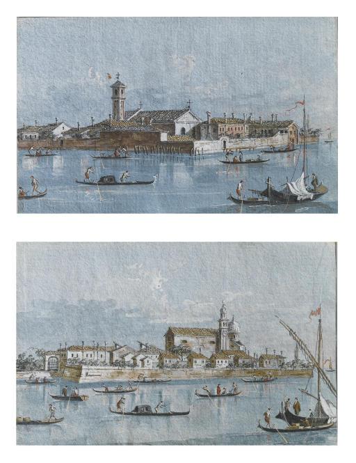 Isola del Lazzaretto Vecchio, Venezia; e Isola della Certosa, Venezia