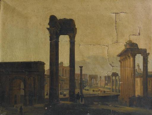 Veduta del Foro Romano, Roma