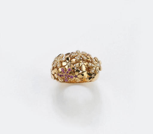 ANELLO IN ORO CON BRILLANTI E