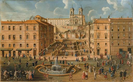 Scuola romana, secolo XVIII