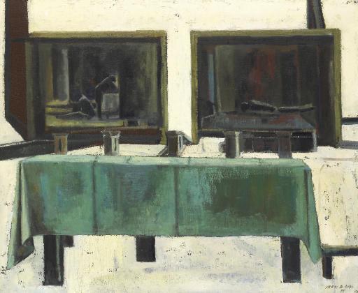 Table et cases pour le moulin, 1995