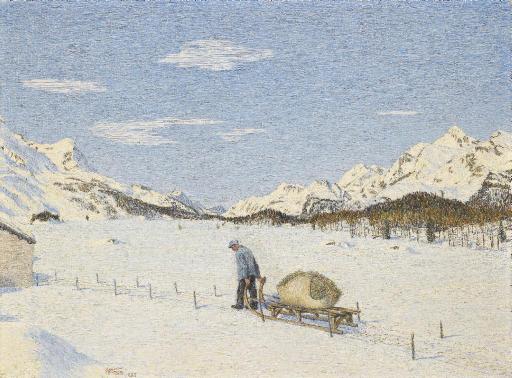 Rückkehr im Winter, 1955