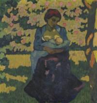 Die Mutter, um 1911