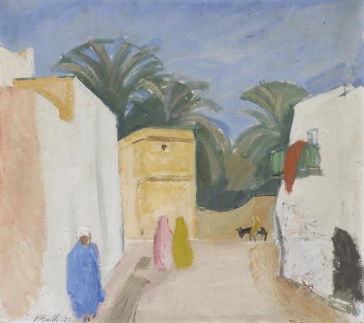 Nordafrikanisches Dorf, 1922