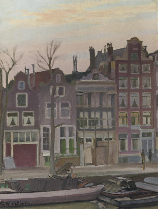 View of the Prinsengracht, Amsterdam