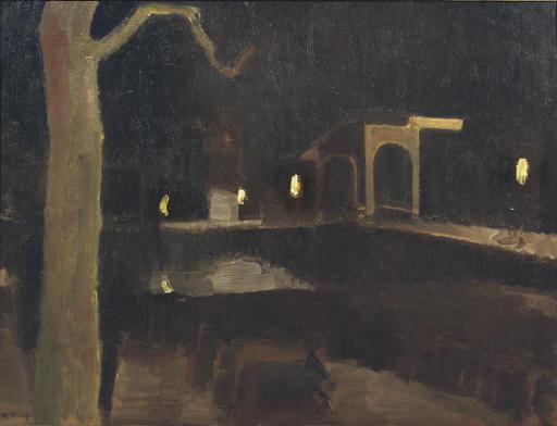 Teertuinen by night, Amsterdam