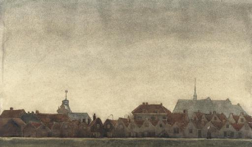 A view of Brouwershaven, Zeeland