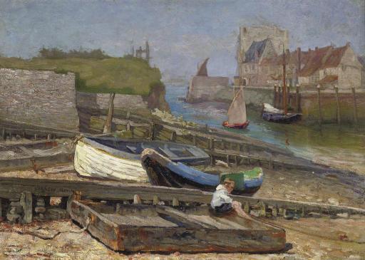 The harbour of Veere