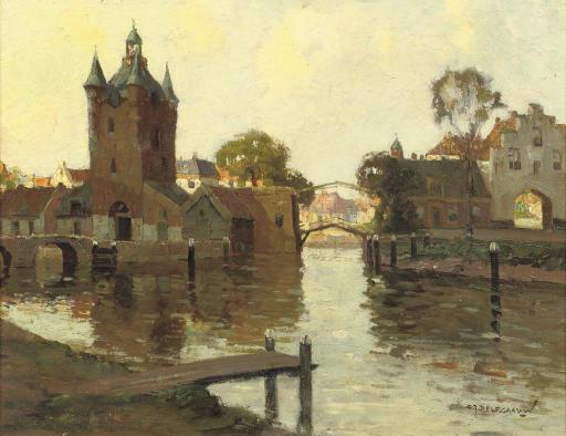 The Zuidhavenpoort and the Noordhavenpoort, citygates of Zierikzee