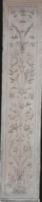 AN ITALIAN CARVED MARBLE PANEL