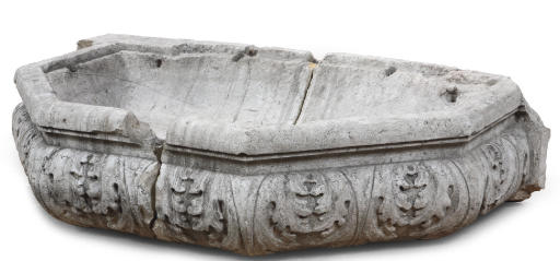 A NORTH ITALIAN CARVED HARDSTO