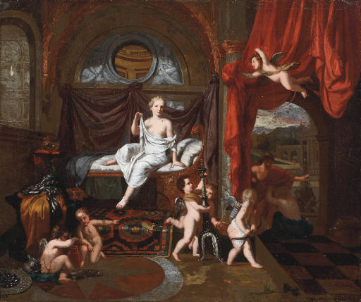 Herse, Mercury and Aglauros