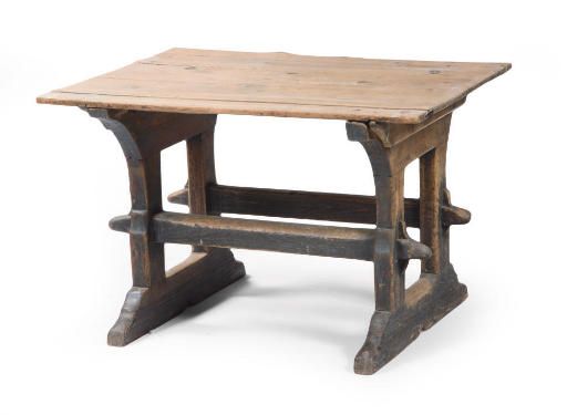A SWISS PINE TABLE
