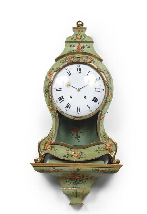 A SWISS PARCEL-GILT AND GREEN-