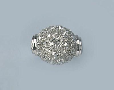 A RETRO PLATINUM DIAMOND DRESS