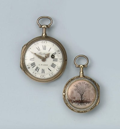 TWO GOLD VERGE WATCHES