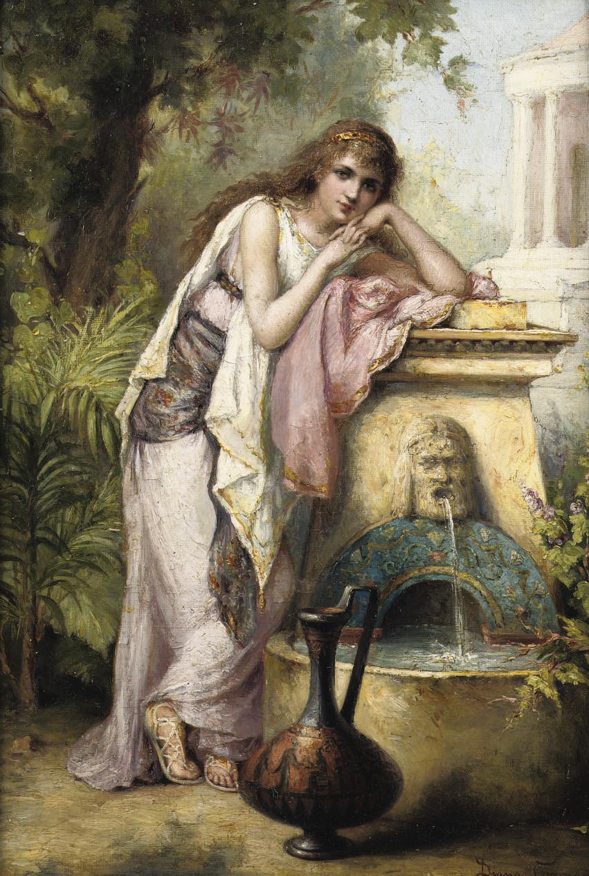 Diana Coomans (Belgian, 1861-1