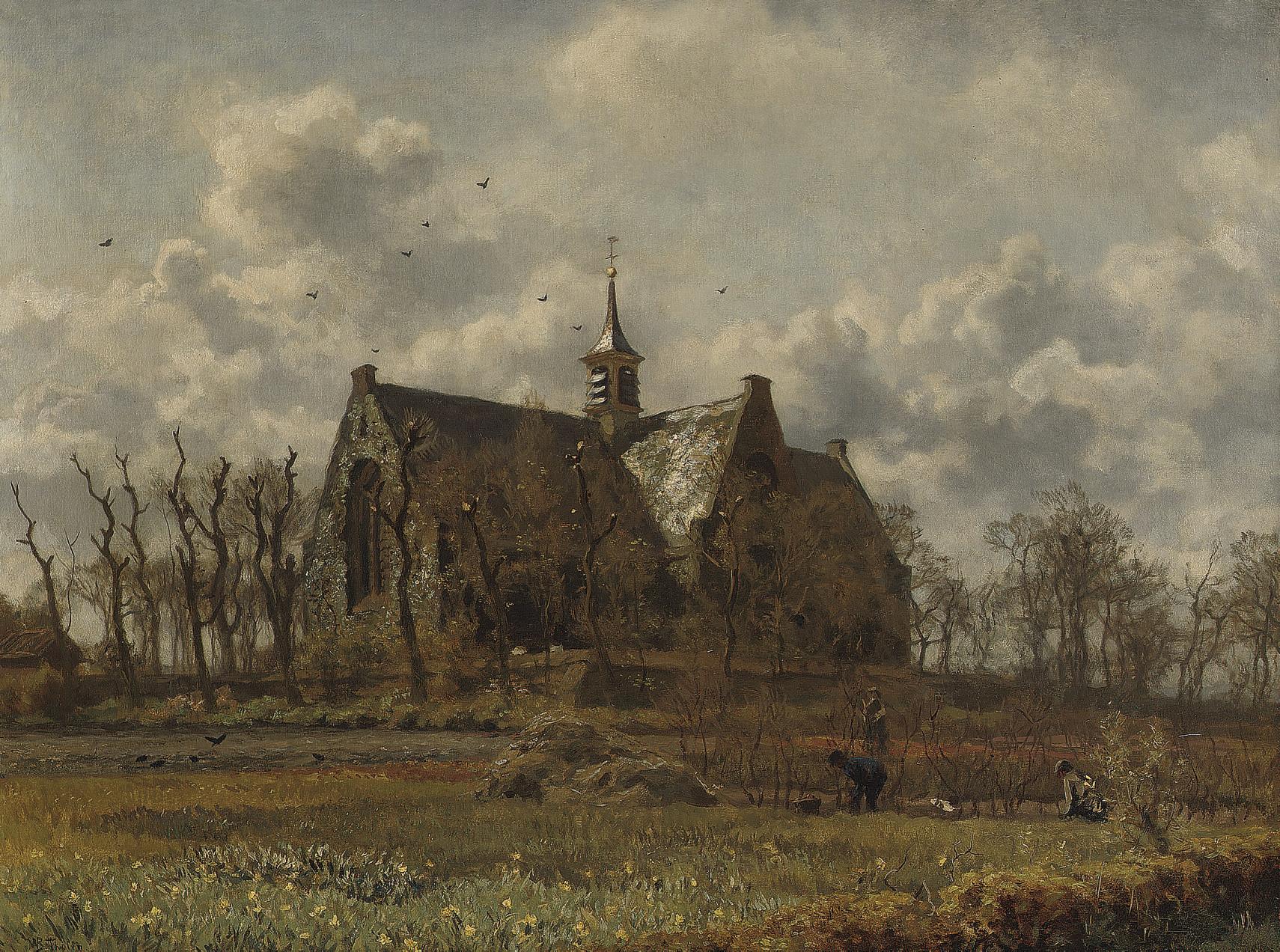 Kerk, Oegstgeest: the green church, Oegstgeest