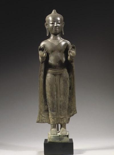 A Thai Suphanburi style silver