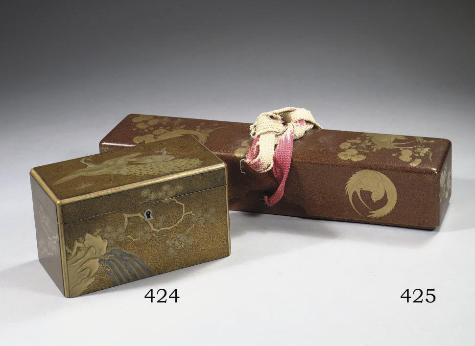A rectangular lacquer scroll-b