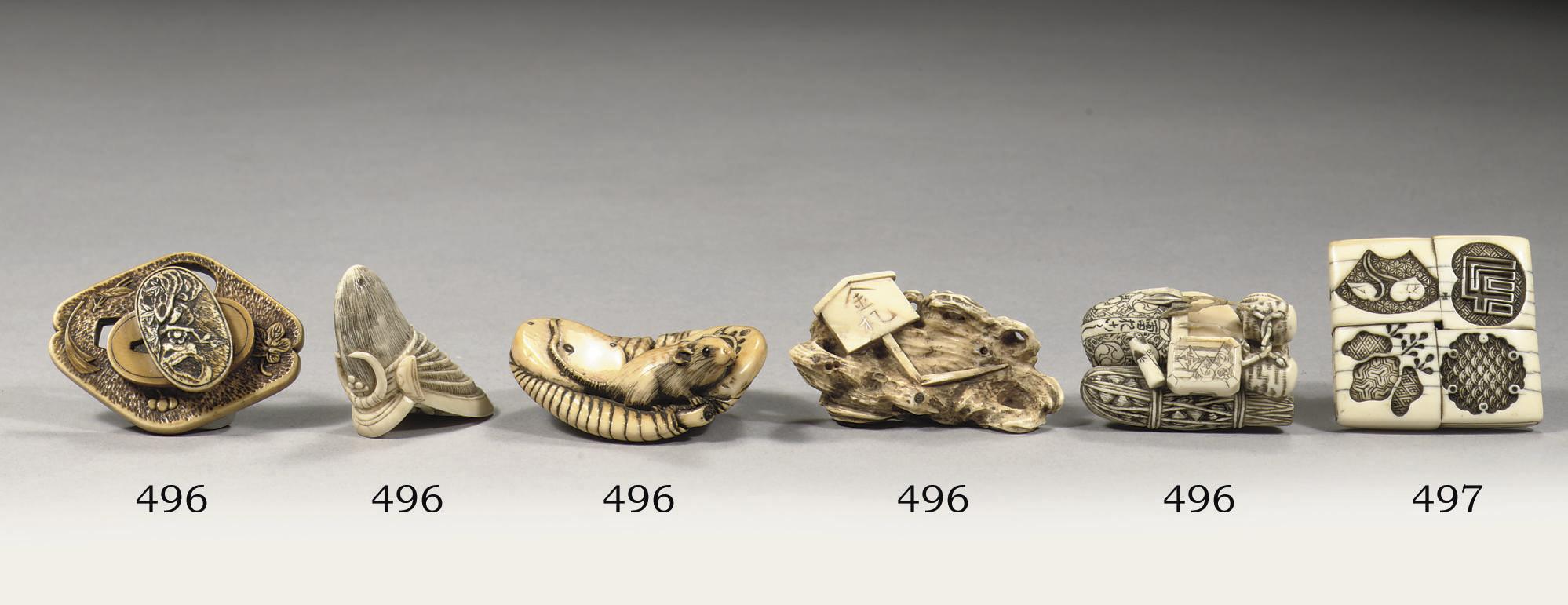 An ivory manju-netsuke
